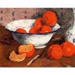 still life with oranges اثر سزان